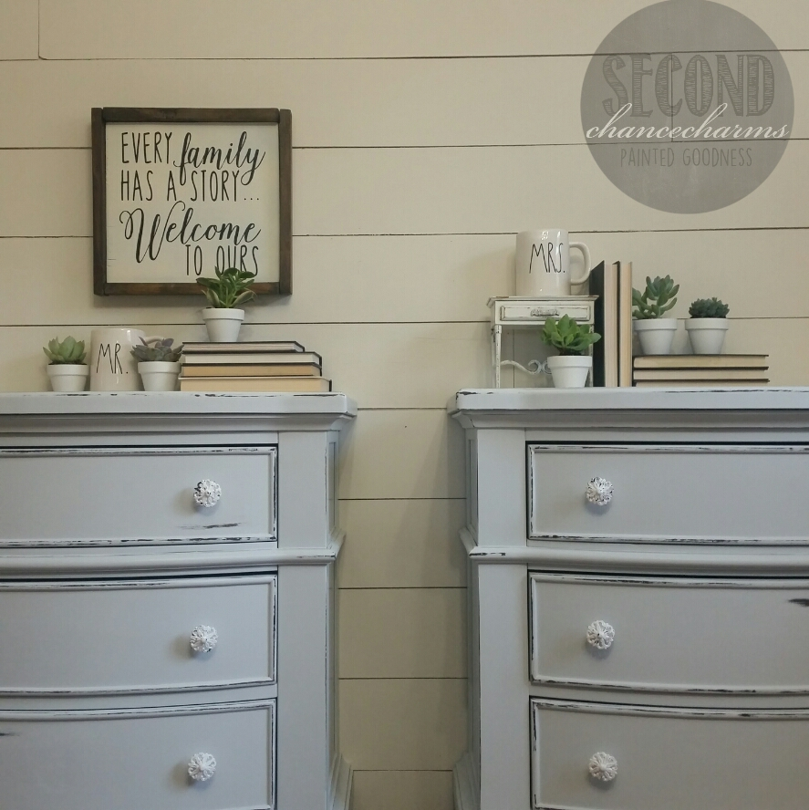 His and Her Nightstands. His and Her Nightstands   Second Chance Charms
