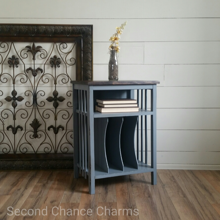 vintage record player stand – second chance charms - vintage record player stand