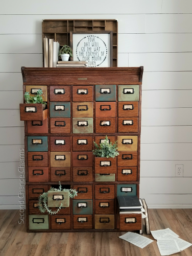 1920's Library Card Catalog