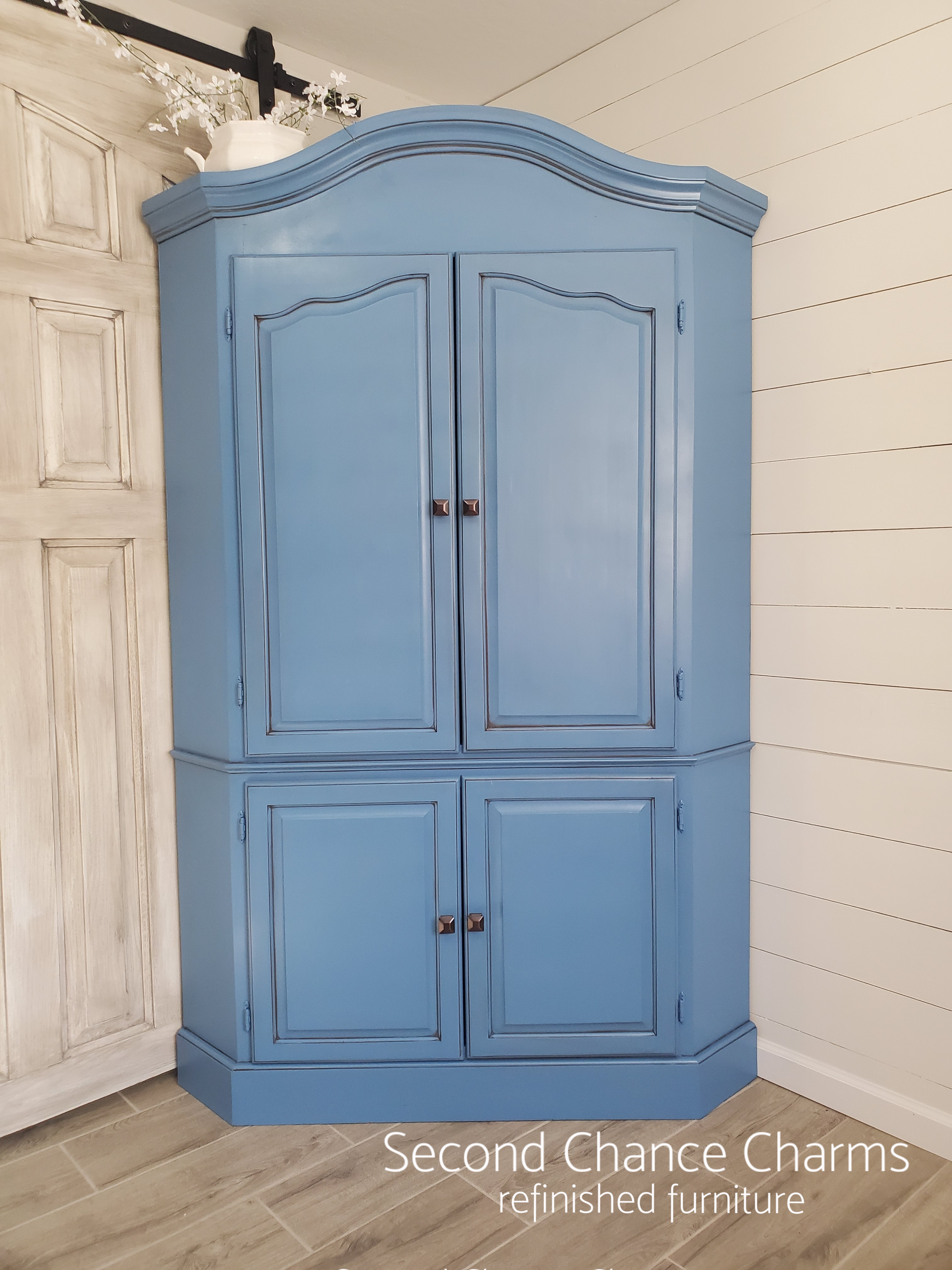 Corner Armoire Second Chance Charms